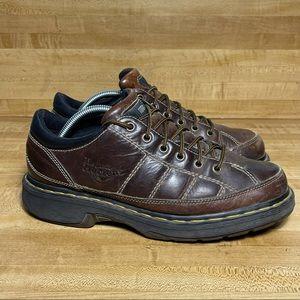 Dr. Doc Martens Brown Leather Mens 9829 Shoes US 9